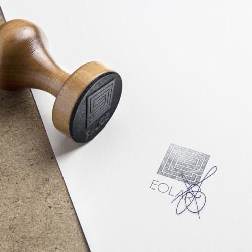 Logo Quadrat Buchstabe E