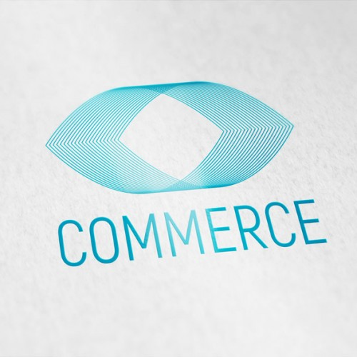 Logo Abstrakte Form 3D Technik