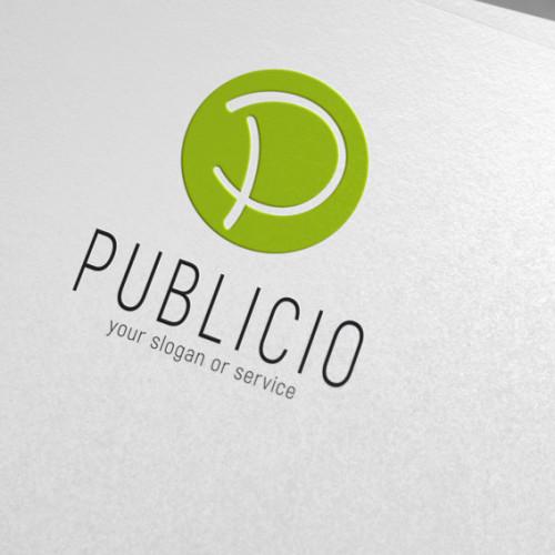 Logo Buchstabe P