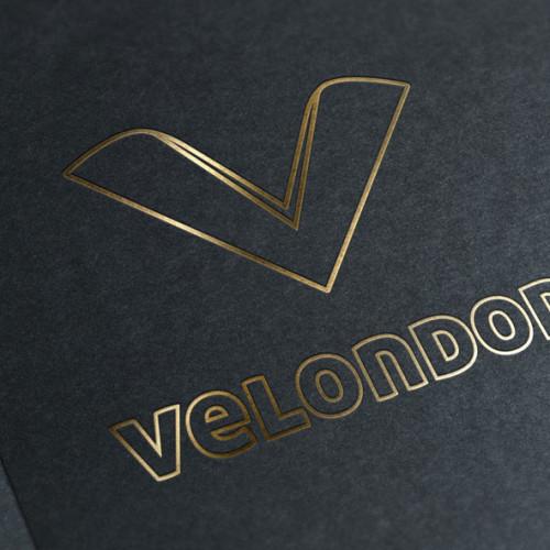Logo Buchstabe V 3D Logo