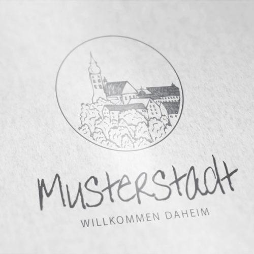 Logo Kirche Kleinstadt