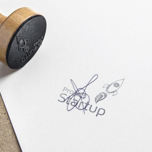 Logo Rakete Startup