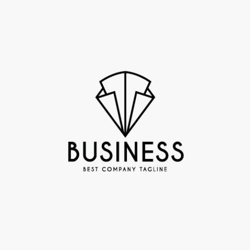 Abstraktes Logo Dreiecke fertiges Logo kaufen