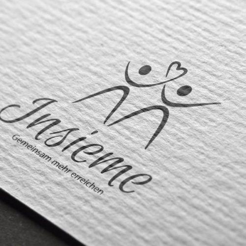 Logo Menschen Liebe Gemeinsam Exklusives Logo kaufen
