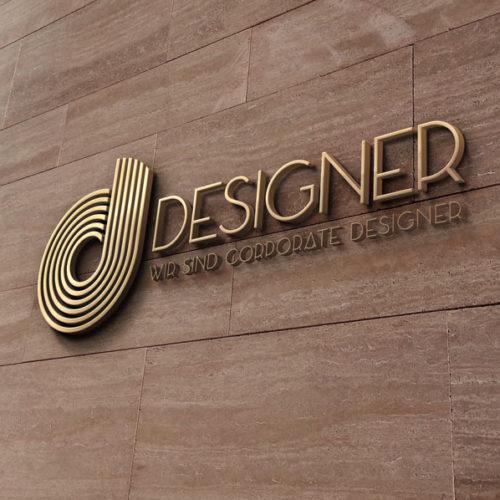 Logo eleganter Buchstabe D elegantes Logo kaufen