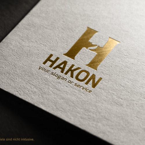 Buchstaben Logo H Logo Verbindungen   Logo kaufen   LogoAtelier