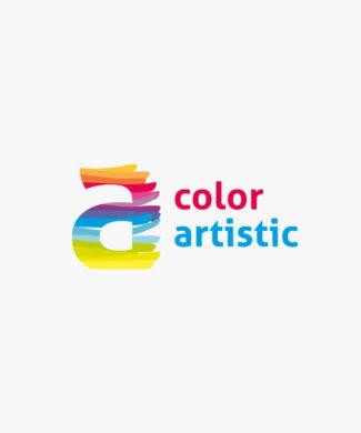 Buntes A Logo | Buchstabe A Logo | Farbenfroh | Kreatives Logo kaufen | LogoAtelier.eu