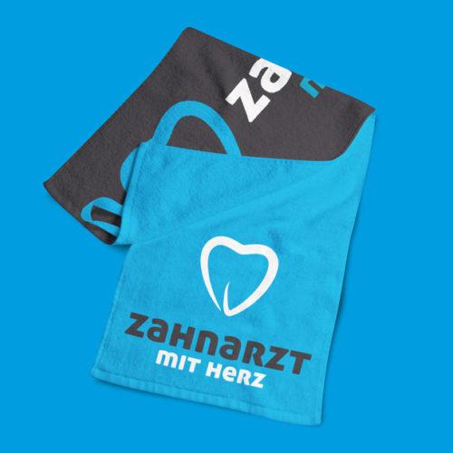 Zahnarzt mit Herz Logo professionelles Logo online kaufen LogoAtelier.eu Logoshop