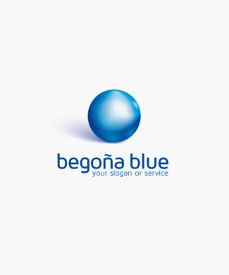 Logo Blaue Kugel