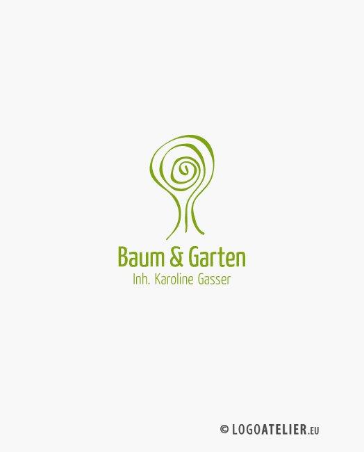 Logo Baum und Garten