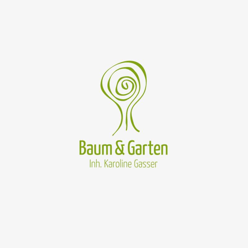 Logo Baum Garten Stilisiertes Logo kaufen LogoShop LogoAtelier.eu