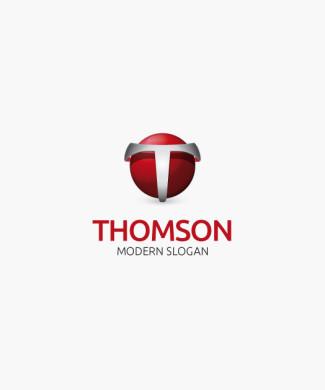Logo 3D Buchstabe T