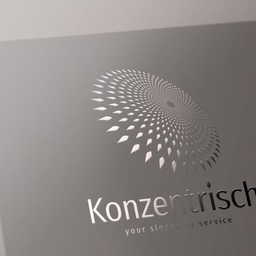 Logo-Abstrakt-Konzentrisch