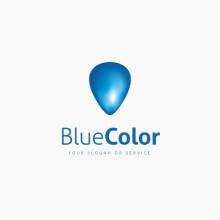 Logo Blaue Form