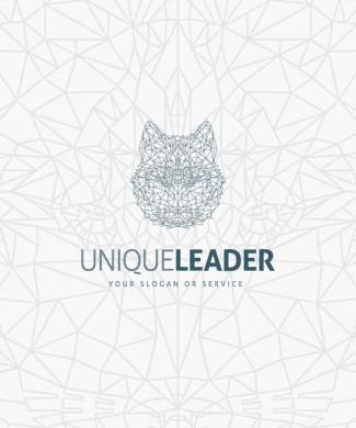 Logo Unique Wolf