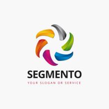 Logo 3D Bunt Konzentrisch
