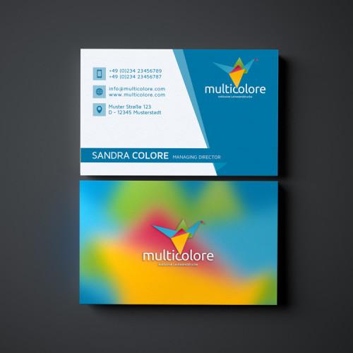 Logo-Bunter-Vogel-Origami