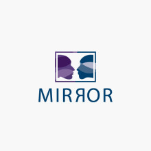 Logo Gesichter Spiegel