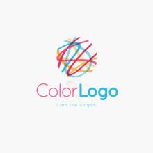 Logo Bunte Linien