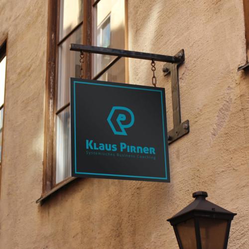 Logo Buchstabe K und P