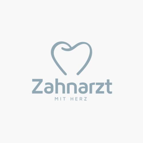 Logo Zahnarzt mit Herz