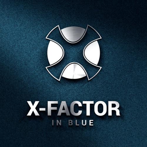 Logo 3D Buchstabe X
