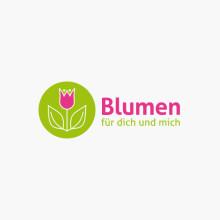 Logo Blumen Geschäft
