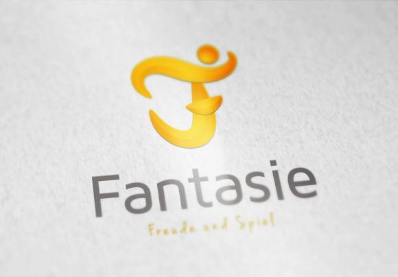 Logo Buchstabe F Spiel