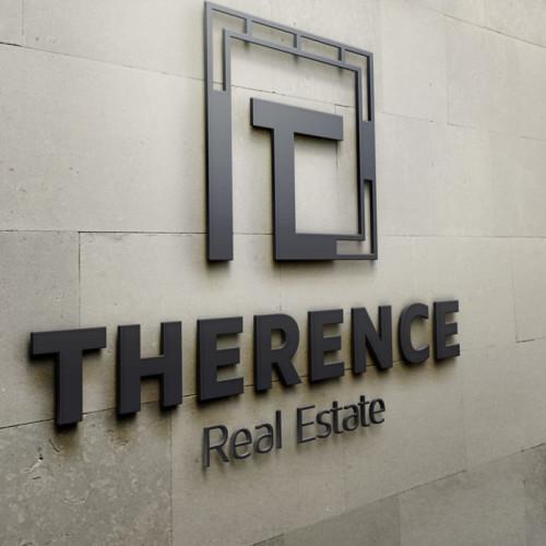 Logo Buchstabe T Immobilie
