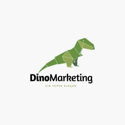 Logo Dinosaurier
