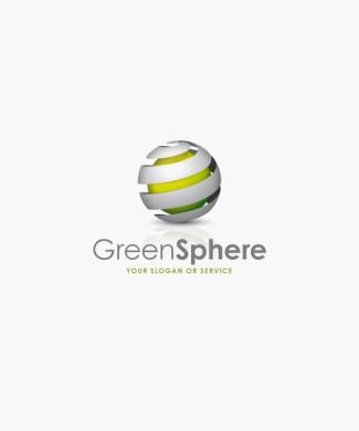 Logo Kugel Grün