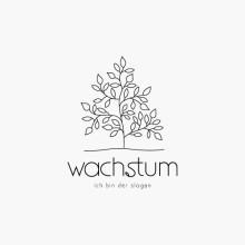 Logo Wachstum Pflanze