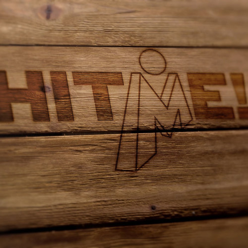 Logo Buchstabe M Mensch