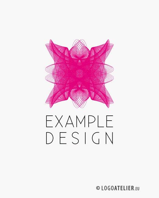Logo Linien Pink