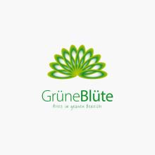 Logo Grüne Blüte
