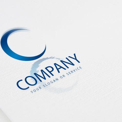 Logo Buchstabe C Spiegelung