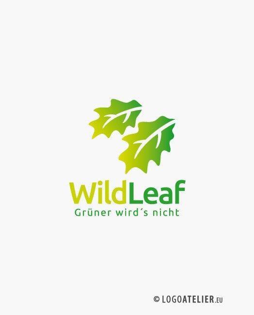 Logo Grüne Blätter