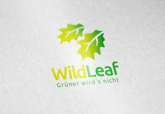 Logo Gruene Blaetter