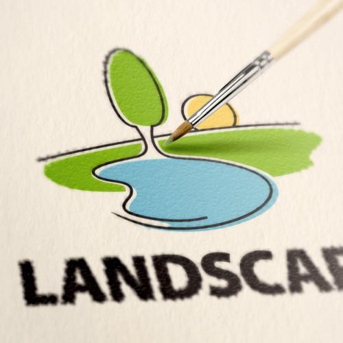 Logo Landschaft Gestaltung