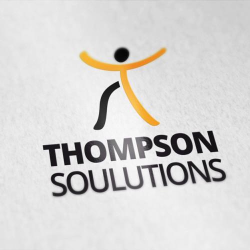 Logo Mensch Buchstabe T