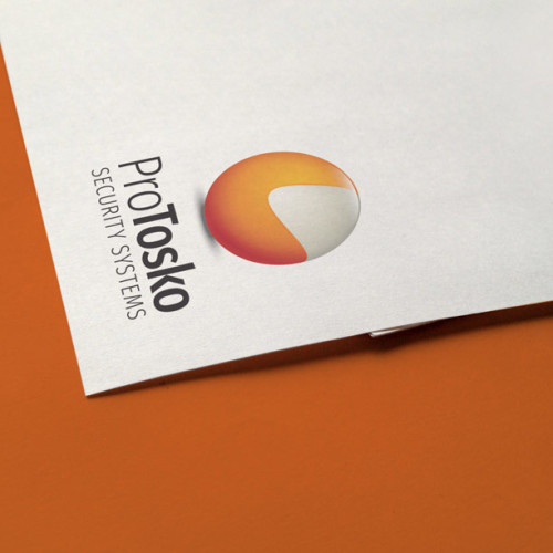 Logo 3D Kugel Orange