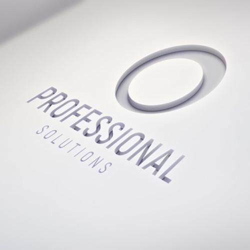 3D Logo Kreis Geometrisch