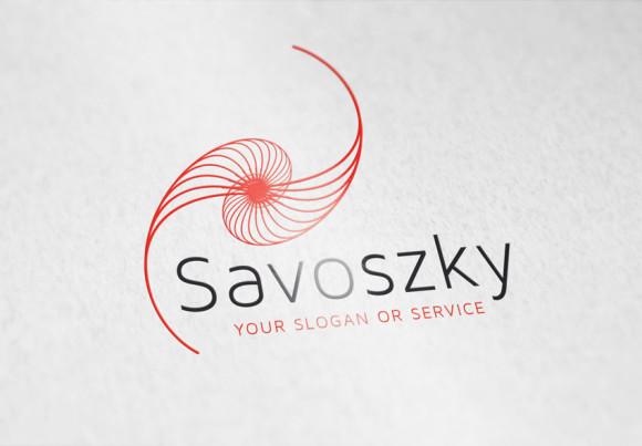 Logo Abstrakte Schnecke 2
