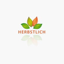 Logo Blätter Herbst