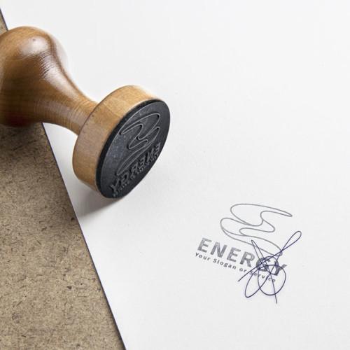 Logo Buchstabe E Form