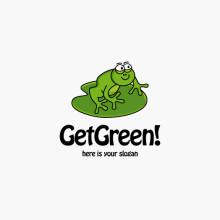 Logo Green Frog