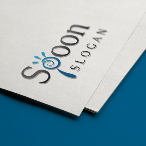 Logo Spoon Buchstabe P