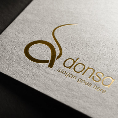 d Logo Buchstabe Logo