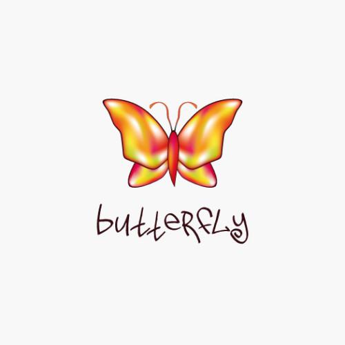 Logo Schmetterling Bunt