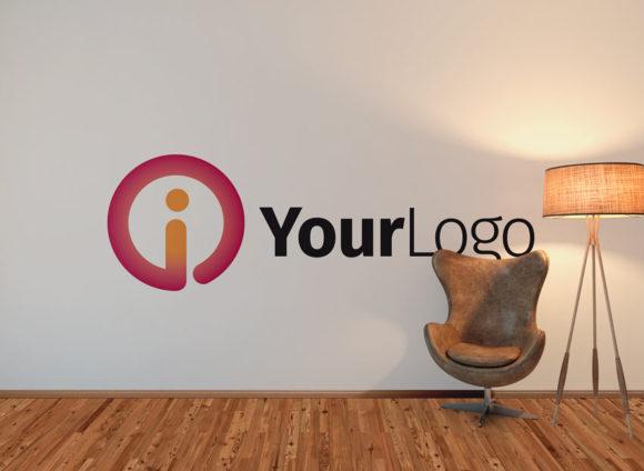 Logo Buchstabe I Rund